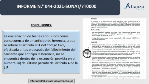 ENAJENACÍON HABITUAL DE INMUEBLES RECIBIDOS EN ANTICIPO DE LEGÍTIMA.