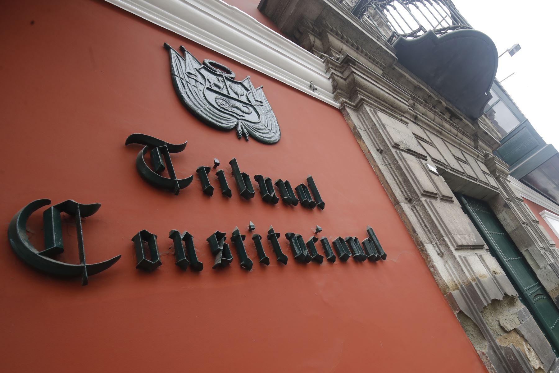 TC: Poder Ejecutivo presentó demanda contra ley que elimina el régimen CAS