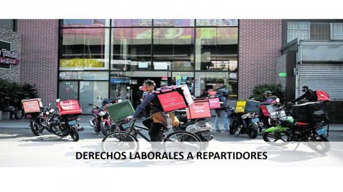 APRUEBAN PREDICTAMEN PARA QUE REPARTIDORES DE APLICATIVO TENGAN BENEFICIOS LABORALES