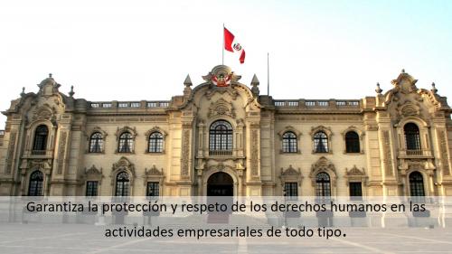 EJECUTIVO OFICIALIZA PLAN NACIONAL DE ACCIÓN SOBRE EMPRESAS Y DERECHOS HUMANOS