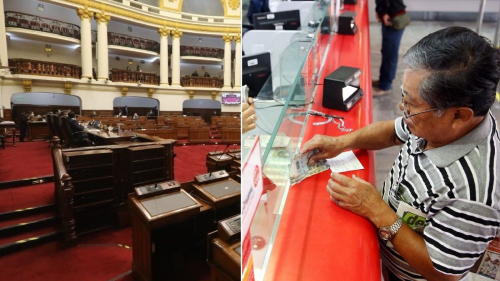 AFP: HOY COMISIÓN DEL CONGRESO VOTA PROYECTO DE LEY QUE PERMITIRÍA TRASLADAR FONDOS A BANCOS Y CAJAS