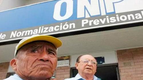 TRAS NEGATIVA DEL MEF, CONGRESO BUSCA CONCRETAR PENSIONES PROPORCIONALES DE ONP
