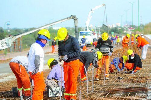 CAPECO: ACUERDAN AUMENTO SALARIAL PARA TRABAJADORES DE CONSTRUCCIÓN CIVIL