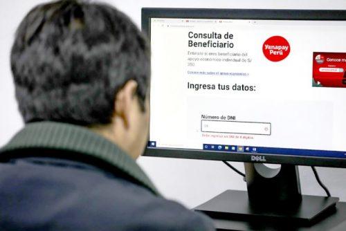 APRUEBAN ACTUALIZACIÓN DEL PADRÓN DE BENEFICIARIOS DEL BONO YANAPAY PERÚ