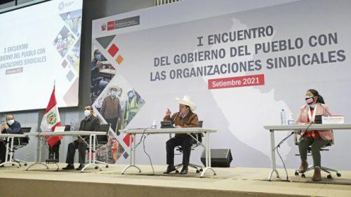 GOBIERNO TRABAJARÁ PARA ELIMINAR LEYES REPRESIVAS QUE ATENTEN CONTRA DERECHOS LABORALES
