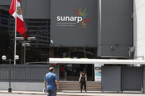 SUNARP: MAYOR DEMANDA DE SERVICIOS REGISTRALES EVIDENCIAN RECUPERACIÓN COMERCIAL Y DEL TRÁFICO INMOBILIARIO
